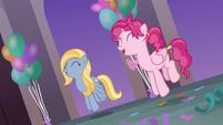 Pegasus mares doing the pony prance S9E7
