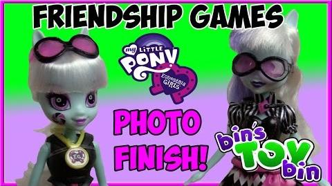Photo Finish Equestria Girls Friendship Games Amazon Exclusive 2015 MLP Doll Review Bin's Toy Bin