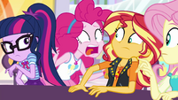 "Pinkie Pie ""did I miss it?!"" EGROF"