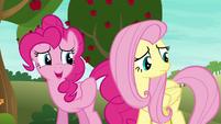 Pinkie Pie --maybe we weren't that bad-- S6E18