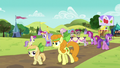 Ponies at the Sisterhooves Social S5E17.png