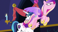 Princess Cadance takes off into the air MLPBGE