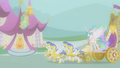 Princess Celestia arriving in Ponyville S01E10.png