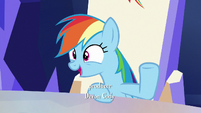 Rainbow --how could you not appreciate that--- S6E15