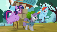Rainbow -why would she want to go live- S8E18