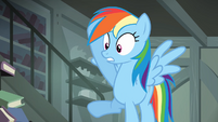 Rainbow Dash's help refused S4E04