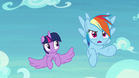 "Rainbow Dash ""she's gonna get hurt!"" S8E20"
