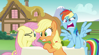 Rainbow Dash --don't cast spells on your friends!-- S6E21