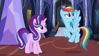 Rainbow Dash --if we can chillax properly-- S6E21