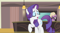Rarity 'I don't even care' S4E08