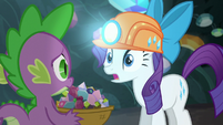 Rarity --I woke them and ended up-- S6E5