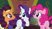 Rarity --why don't I stay behind-- S6E12