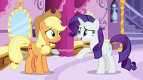 Rarity -it is a costume of some kind- S7E9