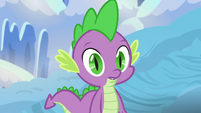Spike noticing something S6E16
