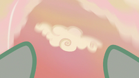 Spinning cloud in Vapor Trail's point of view S6E24
