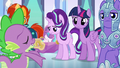 Starlight absorbing the message of Spike's song S6E16.png