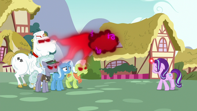File:Starlight extracts anger from infected ponies S7E2.png