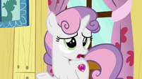 "Sweetie Belle ""I guess not"" S6E4"