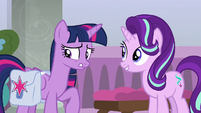 Twilight Sparkle having second thoughts S8E25