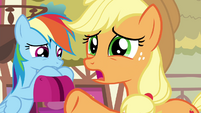 AJ 'some ponies just don't click the way others do' S4E18