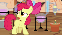 "Apple Bloom ""I'm afraid I'll never get the hang"" S4E15"