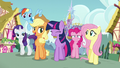 """Applejack """"Shining Armor liked his surprise?"""" S5E19.png"""