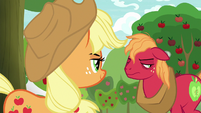 Big Mac thinks Applejack is a showoff S9E10