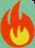 Firecracker Burst cutie mark crop