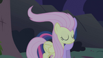Fluttershy's new hairstyle S1E2