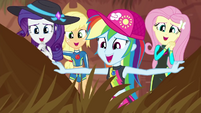 "Fluttershy and friends go ""awwww"" again EGDS14"