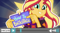 How to Backstage title card EGDS45