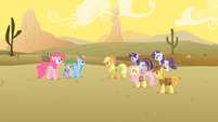 Main 6, Spike, and Braeburn shortest rescue ever S01E21