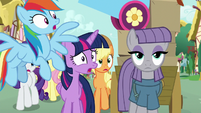 Main ponies looking more shocked S8E18