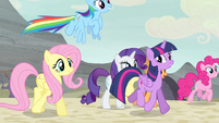 Mane Six enter the village again S5E2