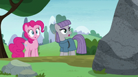 Maud Pie tells Mudbriar to come out S8E3