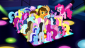 Ponies surrounding Cheese S4E12.png
