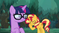 Pony Sci-Twi distressed; Sunset frustrated EGSB
