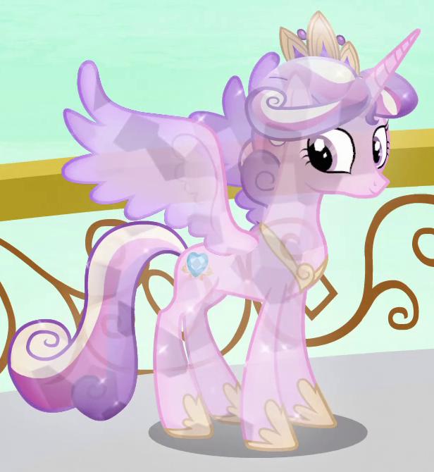 Princess Cadance Crystal Pony ID S3E02