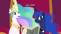 "Princess Celestia ""this is quite a discovery"" S7E25"