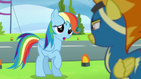 "Rainbow ""I care about all of the Wonderbolts"" S6E7"