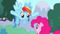 Rainbow -you're Ponyville's permanent party pony- S4E12