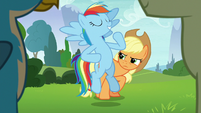 "Rainbow Dash ""with me in charge"" S8E9"