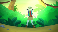 Rainbow Dash alone in the jungle SS12