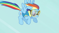 Rainbow Dash slowing down S3E7