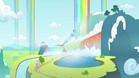 Rainbow waterfalls S3E6