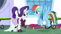 "Rarity ""No, you're not!"" S5E15"