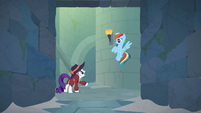 "Rarity ""half of them are traps!"" S9E4"