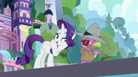 "Rarity ""very noir-esque"" S8E11"