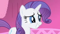 Rarity still smiling S1E20