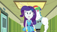 Rarity walking away from Bulk Biceps EGDS12b